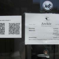 Das Archiv der Stadt Remscheid verwendet QR-Codes