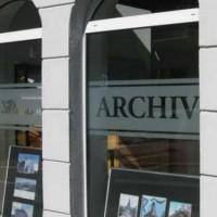 Fenster des Archivs der Stadt Remscheid