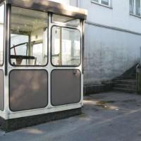 Pförtnerhäuschen der Rather Straße 7-9
