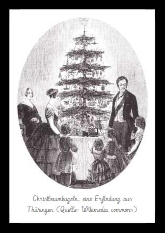 Königin Victoria und Prinz Albert von Sachsen-Coburg und Gotha mit ihren Kindern Weihnachten 1848 (Quelle: Wikipedia)