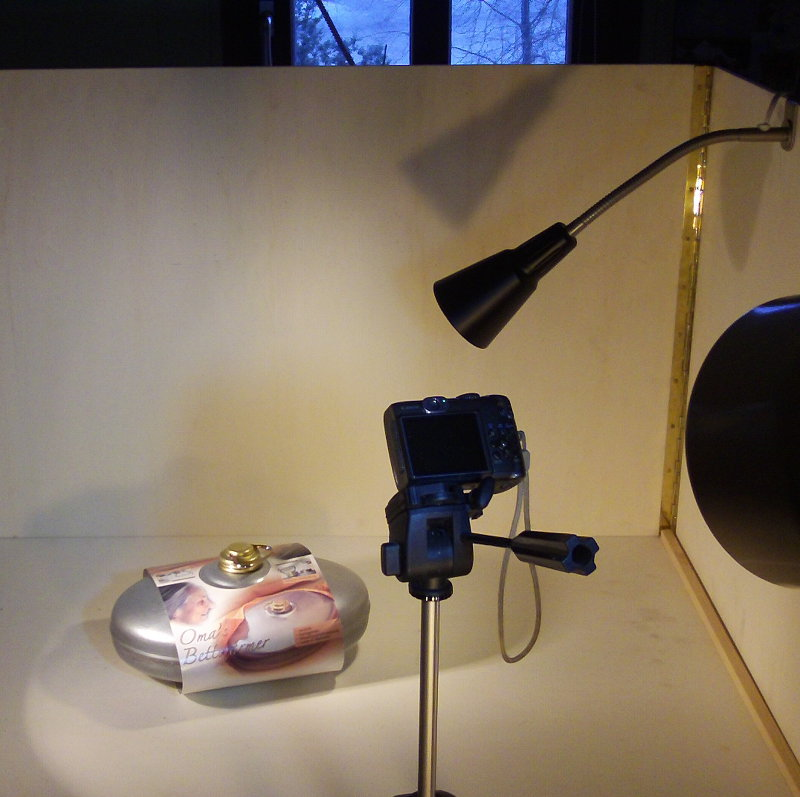 Trickbox als Fotostudio