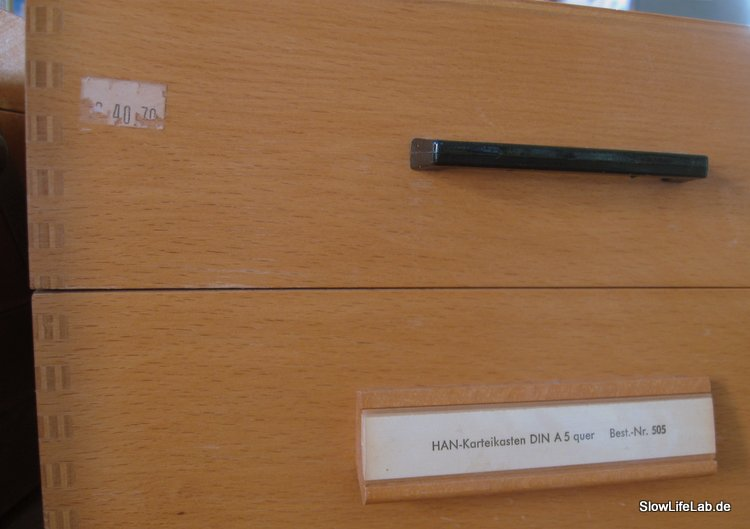 HAN 505 als Sammelbox für Tacker & Co