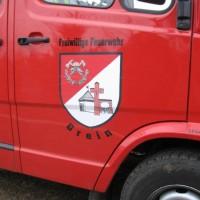 Das Wappen der Freiwilligen Feuerwehr Grein
