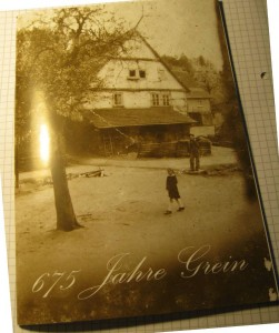 Zufallsfund auf der kleinen Buchmesse in Neckarsteinach: Die Festschrift