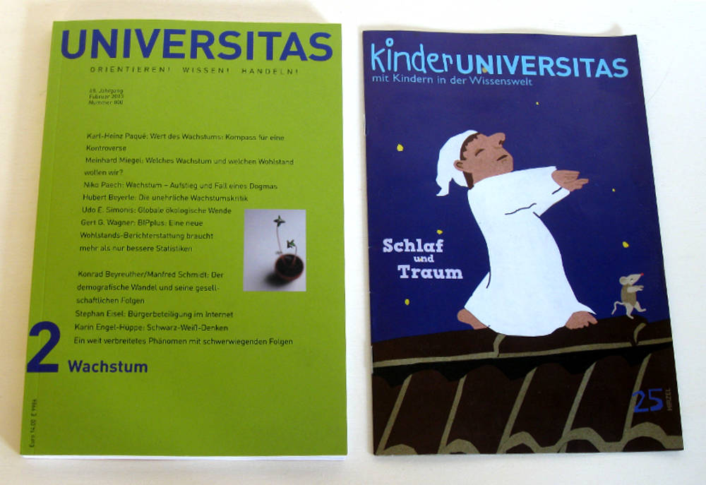 UNIVERSITAS und KinderUNIVERSITAS