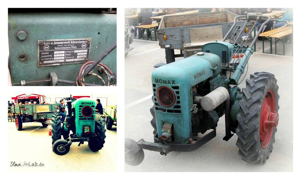 Der Monax Einachsschlepper produziert im Guss und Armaturwerk Kaiserslautern