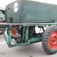 Ein Blick auf dem Motor des Ponny von Platten & Söhne