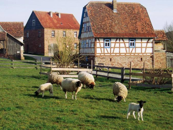 Odenwälder Freilandmuseum Gottersdorf (Foto: AG der Freilichtmuseen in Baden-Württemberg)