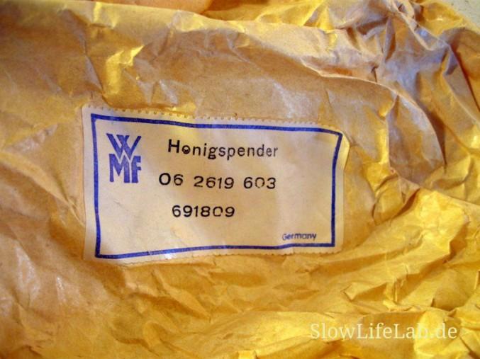 Verpackung des WMF-Honigspenders