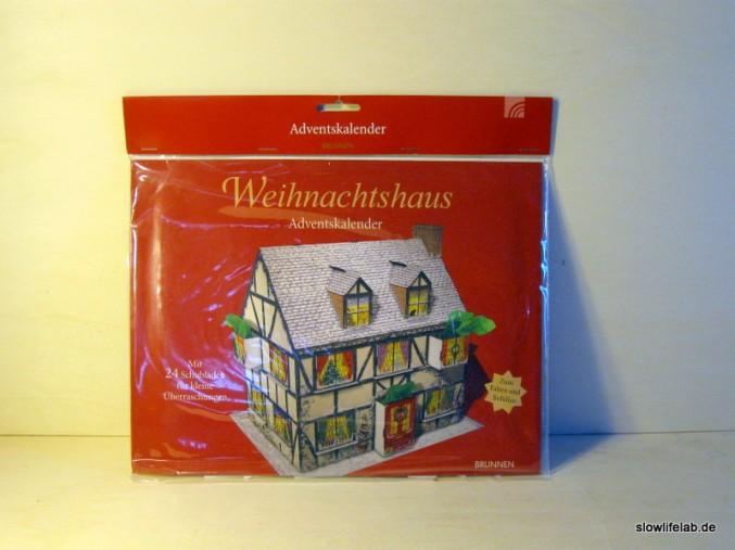 Das Weihnachtshaus aus dem Brunnen Verlag