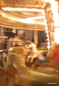 Karussell auf dem Bad Wimpfener Weihnachtsmarkt
