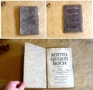 Das Kontogegenbuch vom Dachboden
