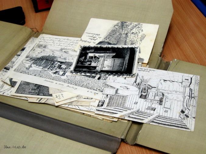 Zeichnungen aus dem ersten Weltkrieg