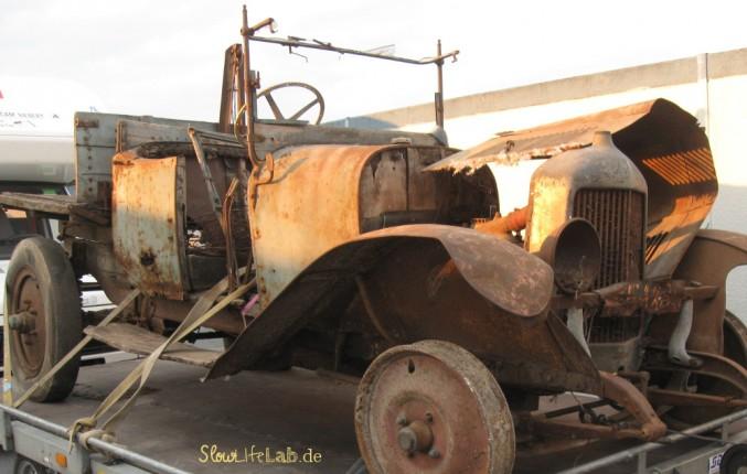 Das älteste Fahrzeug. Oder doch nur das ungepflegteste?