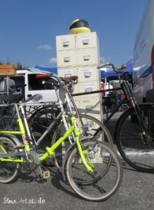 Das Fahrrad ist hilfreich auf langen wegen und wird auch gehandelt