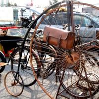 Vélo-Ullis Räder (er selbst wollte nicht auf Bild)