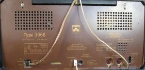 Die Rückseite des Grundig 3068