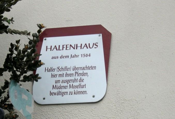Erbaut im Jahr 1564: Das Halfenhaus