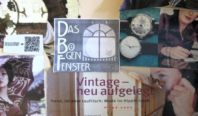 2009: Moodboard aus alten Zeitschriften für DasBogenfenster.de. Moodboards und Collagen erstelle ich immer noch gerne.