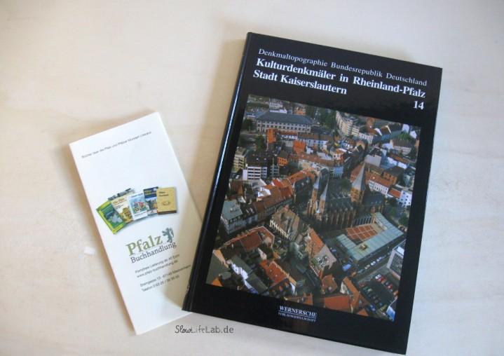"""Die Kulturdenkmäler der Stadt Kaiserslautern, bezogen über die <a href=""""http://www.pfalz-buchhandlung.de/x/Staedte-Pfalz/Stadt-Kaiserslautern-Kulturdenkmaeler::320.html"""">Pfalz Buchhandlung"""