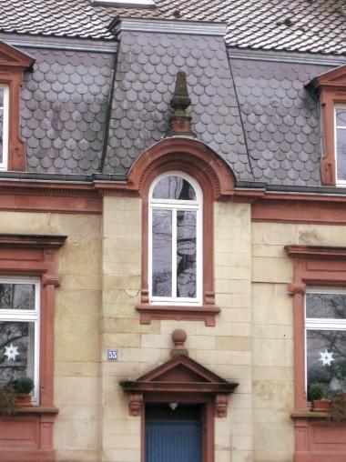Symmetrischer Bau in der Parkstraße
