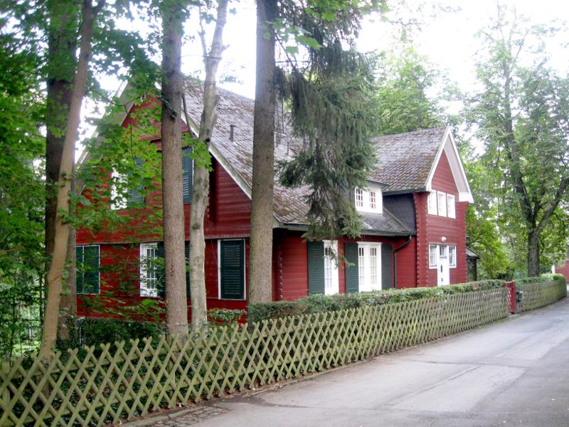 Das Schwedenhaus, das Max Grünbaum vor über 100 Jahren bauen ließ